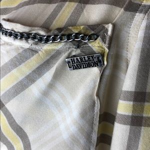 Harley-Davidson Tops - Harley Davidson Plaid Snap Up Shirt